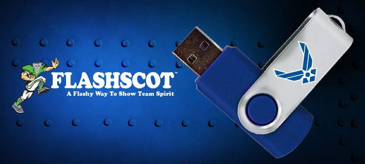 U.S. Air Force Flashscot USB Drives