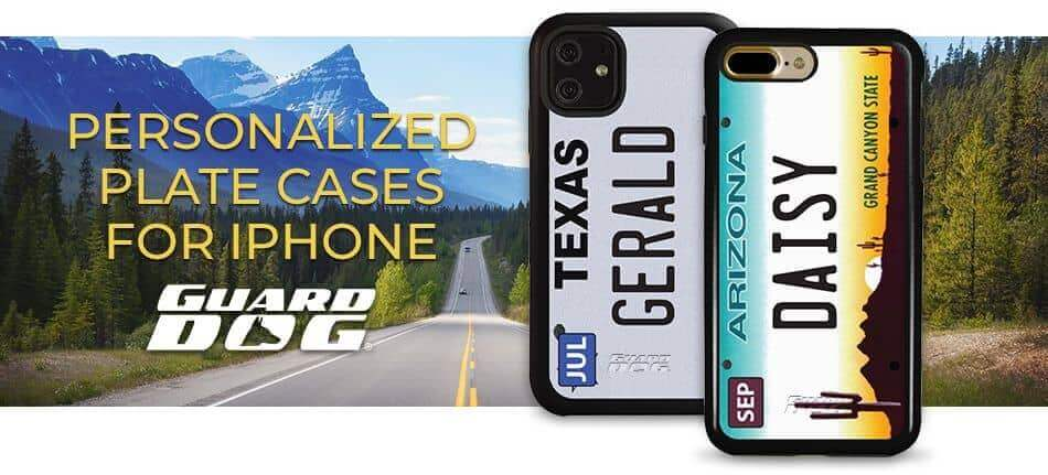 Personalized Plate iPhone