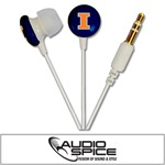 Illinois Fighting Illini Ignition Earbuds