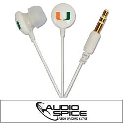 U Miami Hurricanes Ignition Earbuds