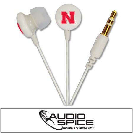 Nebraska Cornhuskers Ignition Earbuds
