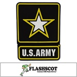 "US ARMY ""Star Logo Shape"" USB Drive"
