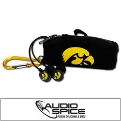 Iowa Hawkeyes Scorch Earbuds with BudBag