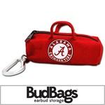 Alabama Crimson Tide BudBag Earbud Storage
