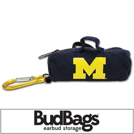 Michigan Wolverines BudBag Earbud Storage