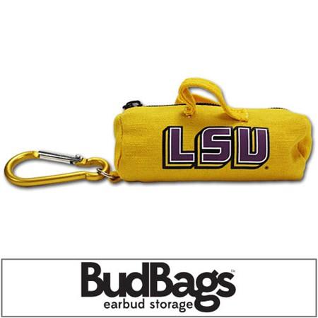 LSU Tigers BudBag Earbud Storage