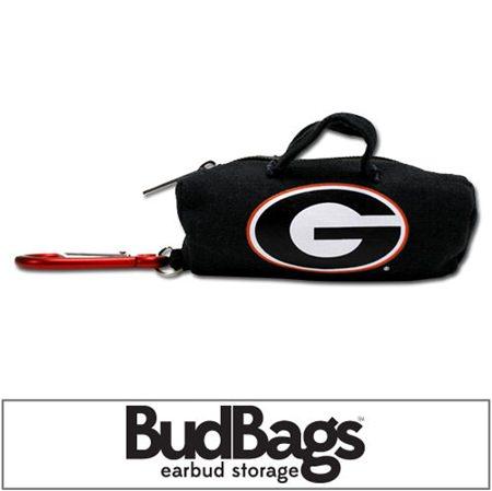 Georgia Bulldogs BudBag Earbud Storage