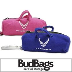 US AIR FORCE BudBag Earbud Storage