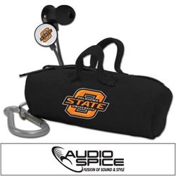 Oklahoma State Cowboys Scorch Earbuds with BudBag