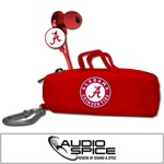 Alabama Crimson Tide Scorch Earbuds with BudBag