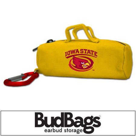 Iowa State Cyclones BudBag Earbud Storage