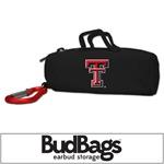 Texas Tech Red Raiders BudBag Earbud Storage