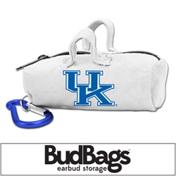 Kentucky Wildcats BudBag Earbud Storage