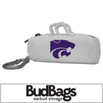 Kansas State Wildcats BudBag Earbud Storage