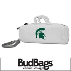 Michigan State Spartans BudBag Earbud Storage