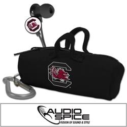 South Carolina Gamecocks Scorch Earbuds with BudBag