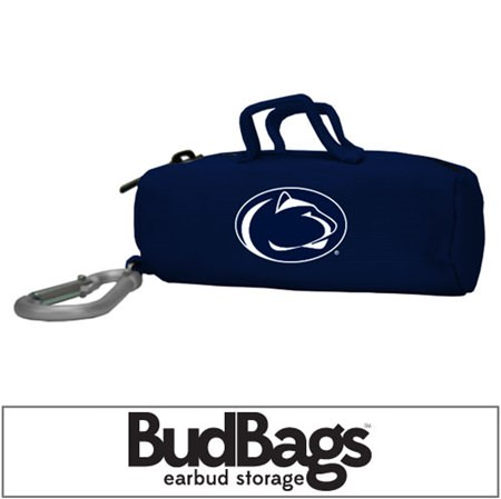 Penn State Nittany Lions BudBag Earbud Storage