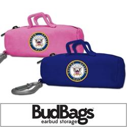 US NAVY BudBag Earbud Storage