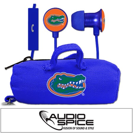 Florida Gators Scorch Earbuds + Mic with BudBag