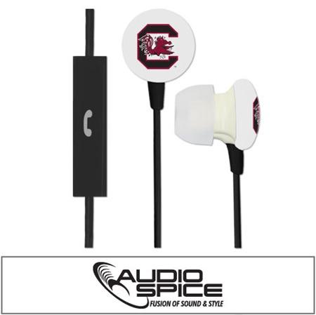 South Carolina Gamecocks Ignition Earbuds + Mic