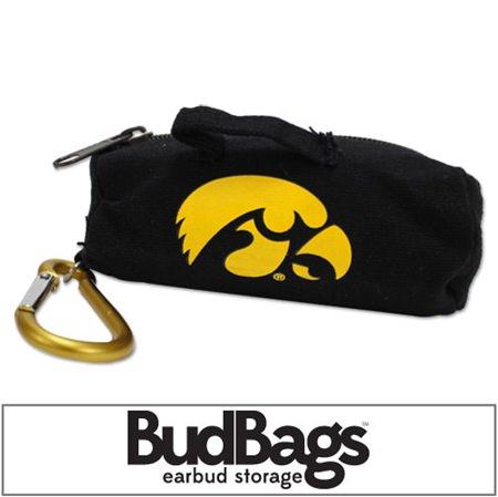 Iowa Hawkeyes BudBag Earbud Storage