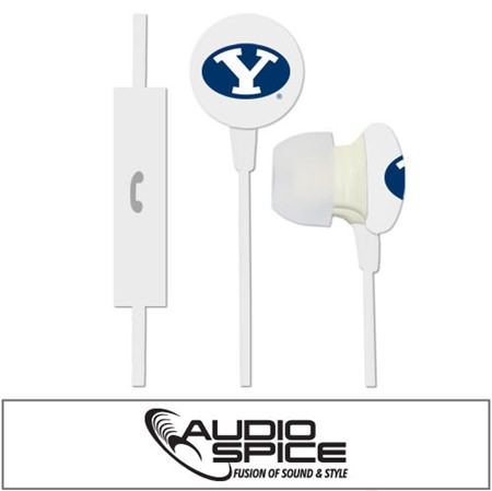 BYU Cougars Ignition Earbuds + Mic