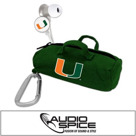 U Miami Hurricanes Scorch Earbuds