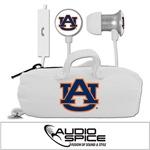Auburn Tigers Scorch Earbuds + Mic with BudBag