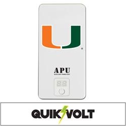 U Miami Hurricanes APU 10000XL USB Mobile Charger