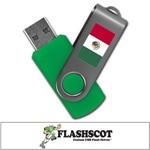Mexico 8GB Revolution USB Flash Drive
