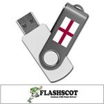 England 8GB Revolution USB Flash Drive