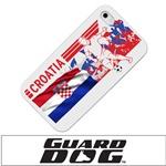 Croatia Soccer Field Designer Case for iPhone® 4/4s