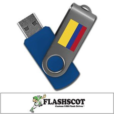 Colombia 8GB Revolution USB Flash Drive