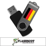 Germany 8GB Revolution USB Flash Drive