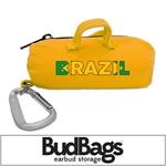 Brazil BudBag Earbud Storage