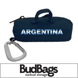 Argentina BudBag Earbud Storage