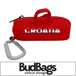 Croatia BudBag Earbud Storage