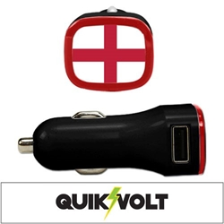 England USB Car Charger