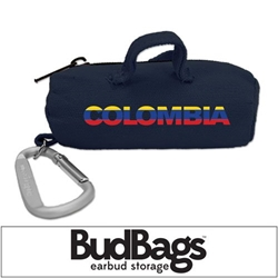 Colombia BudBag Earbud Storage