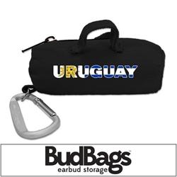Uruguay BudBag Earbud Storage
