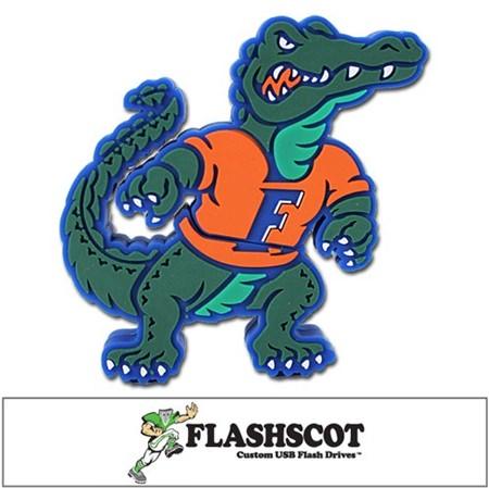 "Florida ""Gator Shape"" USB Drive"