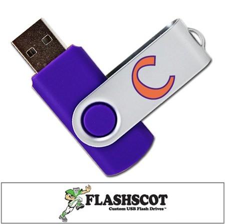 Clemson Tigers Revolution USB Drive