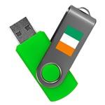 Ivory Coast 8GB Revolution USB Flash Drive
