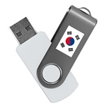 South Korea 8GB Revolution USB Flash Drive