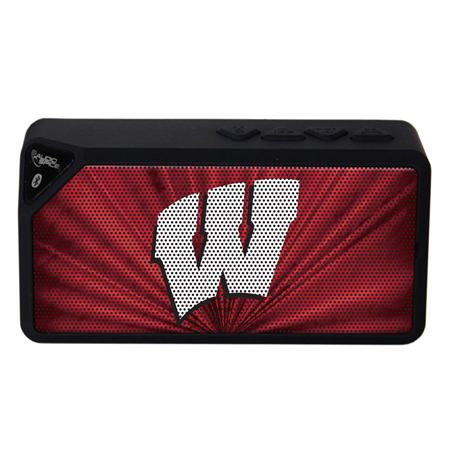 Wisconsin Badgers BX-100 Bluetooth Speaker