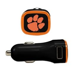 Clemson Tigers USB Car Charger