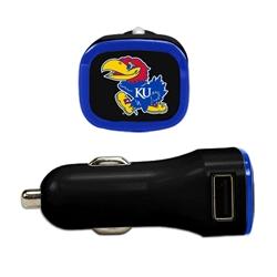 Kansas Jayhawks USB Car Charger
