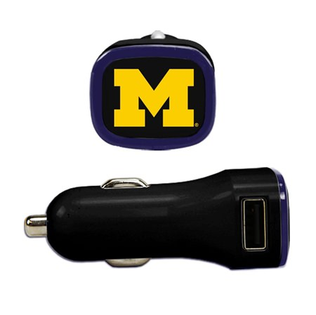 Michigan Wolverines USB Car Charger