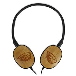 Oregon State Beavers Bamboo Headphones