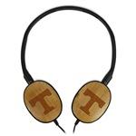 Tennessee Volunteers Bamboo Headphones